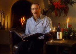 A marketing video promoting wine