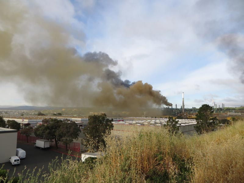 Fire at the Benicia refinery