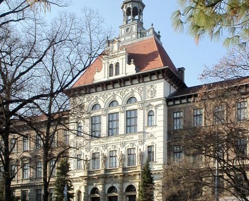 Exterior of KUK Hochschule für Bodenkultur