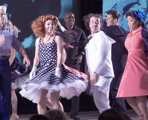 Dance number from a corporate musical