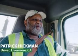 Video about a star truck driver employee