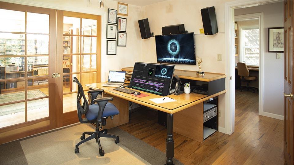 Video editing suite at eImage